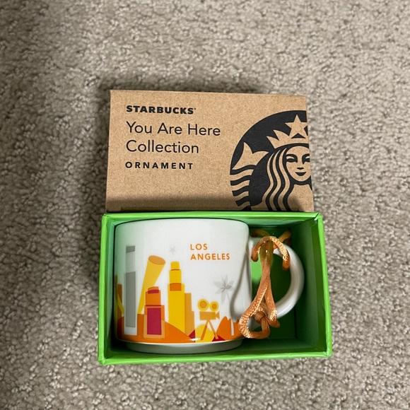 Starbucks You Are Here Mug Collection ORNAMENT